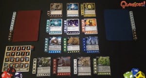 Two player game set up