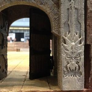 doors to the arena